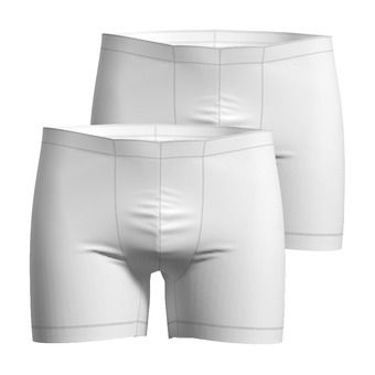 SUW Bottom Boxer ACTIVE CUBIC LIGHT 2 Pa Homme white