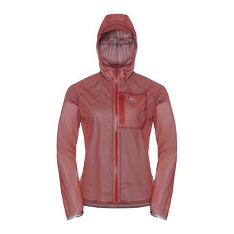Jacket ZEROWEIGHT DUAL DRY WATERPROOF Femme hot coral