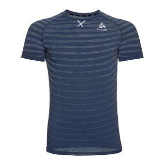 T-shirt s/s crew neck BLACKCOMB PRO Homme estate blue - space dye