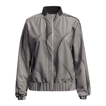 Jacket MAHA Femme silver cloud - AOP SS20