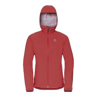 Jacket hardshell AEGIS 2.5L WATERPROOF Femme hot coral