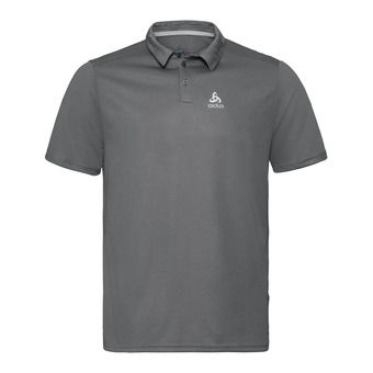 Polo shirt s/s F-DRY Homme odlo steel grey
