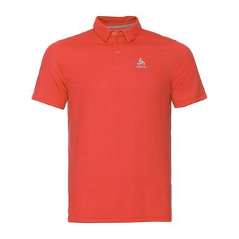 Polo shirt s/s F-DRY Homme mandarin red
