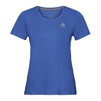 T-shirt s/s crew neck F-DRY Femme amparo blue