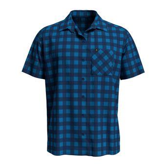 Shirt s/s MYTHEN Homme blue aster - estate blue - check