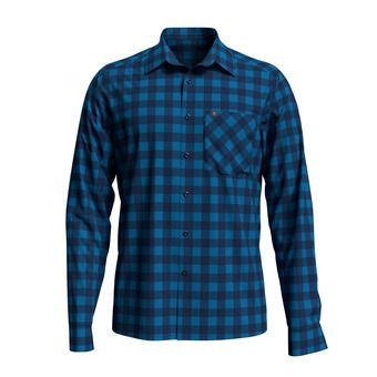 Shirt l/s MYTHEN Homme blue aster - estate blue - check