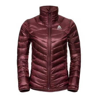Odlo COCOON N-THERMIC WARM - Anorak mujer decadent chocolate