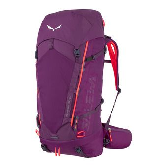 Salewa ALPTREK 50 +10L BP WS - Backpack - Women's - dark purple