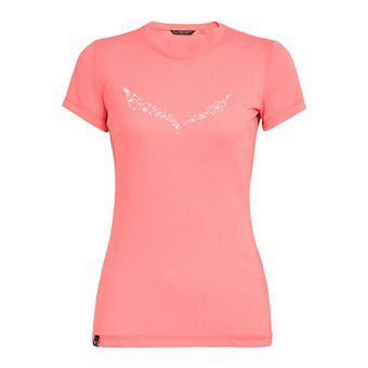 Salewa SOLIDLOGO - T-Shirt - Women's -shell pink melange