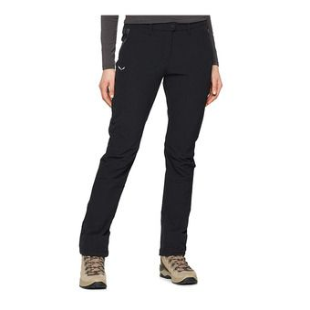 Salewa PUEZ TERMINAL 2 LONG - Pants - Women's -black out