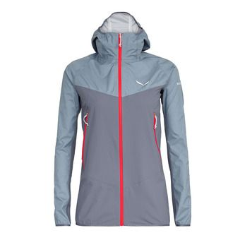 Salewa AGNER POWERTEX 3L - Jacket - Women's -flint stone/0450/6080