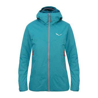 Salewa CLASTIC 2 POWERTEX 2L - Jacket - Women's -black out/6080