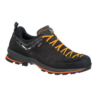 Salewa MTN TRAINER 2 GTX - Hiking Shoes - Men's - black/carrot