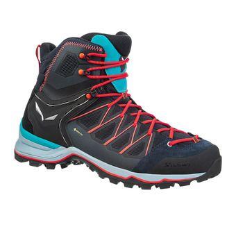 Salewa MTN TRAINER LITE MID GTX - Hiking Shoes - Men's - premium navy/blue fog