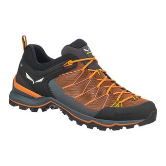 Salewa MTN TRAINER LITE - Hiking Shoes - Men's - ombre blue/carrot