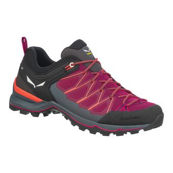 Salewa MTN TRAINER LITE - Hiking Shoes - Women's - virtual pink/fluo coral
