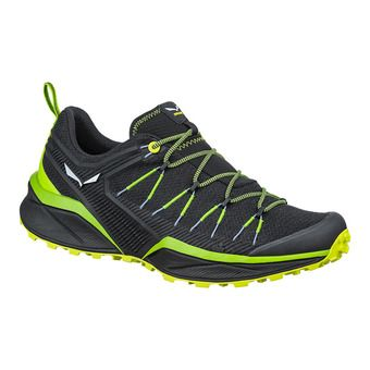 Salewa DROPLINE - Hiking Shoes - Men's - fluo green/fluo yellow
