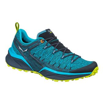 Salewa DROPLINE - Hiking Shoes - Men's - blue danube/ombre blue