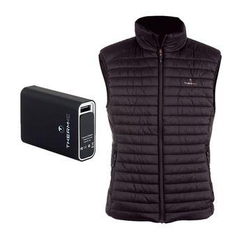 Therm-Ic POWERVEST HEAT - Doudoune chauffante Homme black + batterie 5200mAh