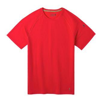 M Merino150 BLShrtSlv Bxd CARDINAL RED Homme CARDINAL RED
