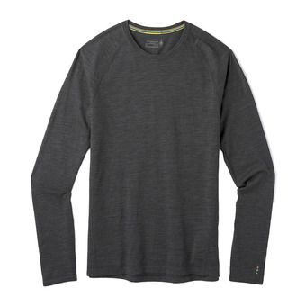 M Merino150 BL LngSlv Bxd IRON HEATHER Homme IRON HEATHER