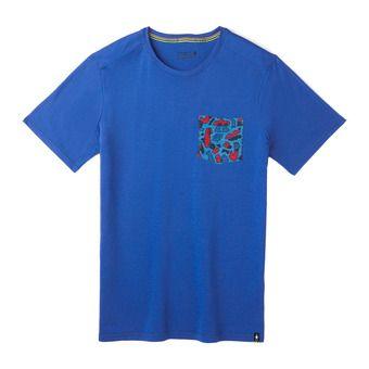 M Merino 150 Pocket Tee LIGHT ALPINE BLUE Homme LIGHT ALPINE BLUE