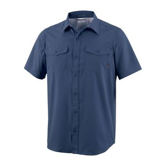 Utilizer II Solid Short Sleeve Shirt Homme Collegiate Navy