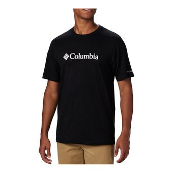 CSC Basic Logo Short Sleeve Homme Black