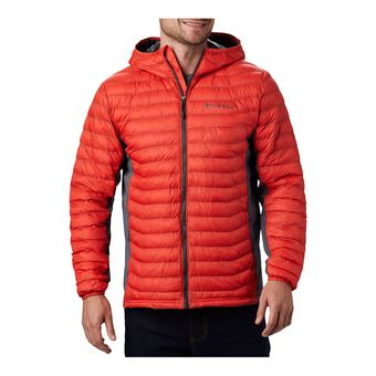 Powder Pass Hooded Jacket Homme Wildfire