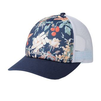 W Columbia Mesh Hat II Femme Nocturnal Floral, Nocturnal, White, Logo