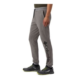 Columbia Lodge Dbl Knit Jogger Homme Charcoal Heather