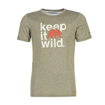Terra Vale II SS Tee Homme New Olive Heather Keep It Wild
