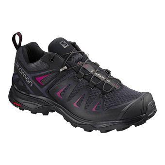 Shoes X ULTRA 3 W Graphite/Bk/Beet Red Femme Graphite/Bk/Beet red