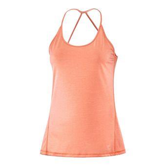 T Shirt COMET TANK W PAPAY/Peach Nec/Hea Femme PAPAYA/PEACH NECTAR/HEATHER