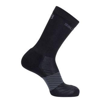 Socks XA 2-PACK Black/Black Unisexe LIGHT GREY HEATHER/MEDIUM GREY HEAT