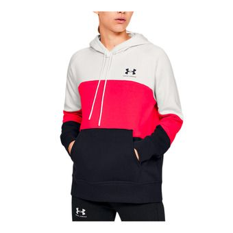 Rival Fleece Color block Hoodie-WHT Femme Onyx White/Beta/Black