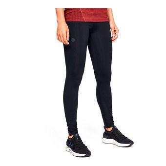 UA Rush Legging-BLK Femme Black/Black/Black