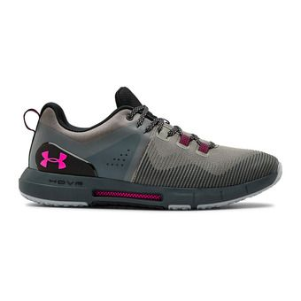 Under Armour HOVR RISE - Zapatillas de training hombre gravity green/pitch gray/pink surge