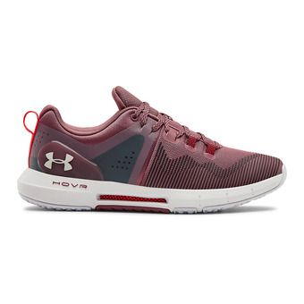 Under Armour UA HOVR RISE - Zapatillas de training mujer hushed pink/white/white