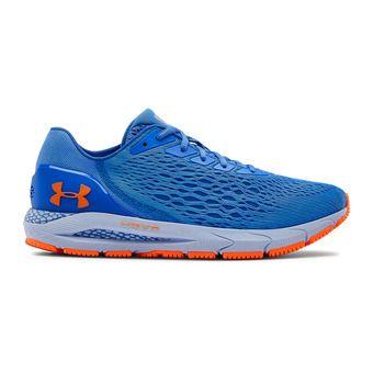 UA HOVR Sonic 3-BLU Homme Water/Spackle Blue/Orange Spark