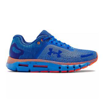 UA HOVR Infinite 2-BLU Homme Water/Orange Spark/Versa Blue
