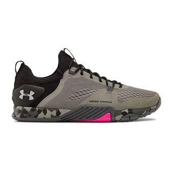 UA TriBase Reign 2-GRN Homme Gravity Green/Black/Halo Gray