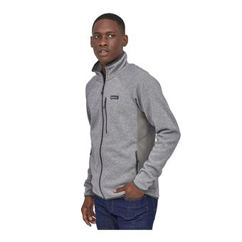 M's LW Better Sweater Jkt Homme Feather Grey