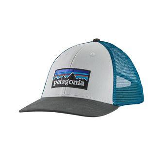 P-6 Logo LoPro Trucker Hat Unisexe White w/Forge Grey