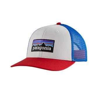 P-6 Logo Trucker Hat Unisexe White