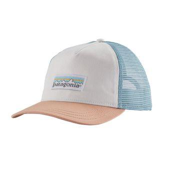 W's Pastel P-6 Label Layback Trucker Hat Femme White