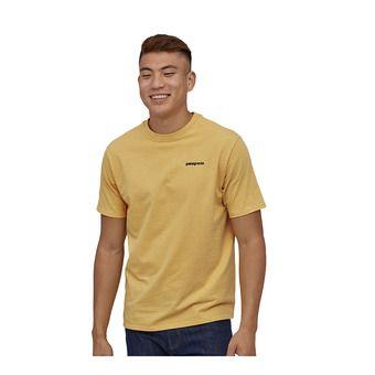 M's P-6 Logo Responsibili-Tee Homme Surfboard Yellow