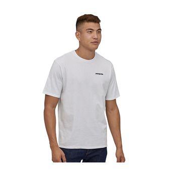 M's P-6 Logo Responsibili-Tee Homme White