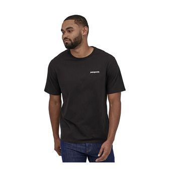 M's P-6 Logo Organic T-Shirt Homme Black