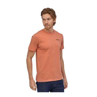 M's P-6 Logo Organic T-Shirt Homme Mellow Melon